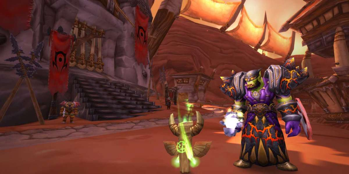 World of Warcraft Classic versus the current version of WoW Retail