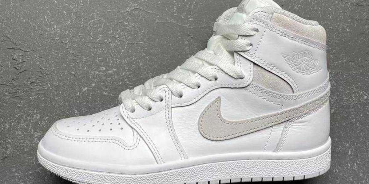 "Air Jordan 1 High 85 ""Neutral Grey"" BQ4422-100 will be officially launched in February this year"