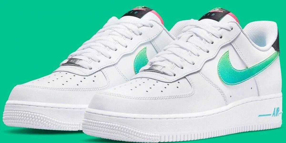 Nike Air Force 1 Low Get the Vintage '90s Pops Of Color