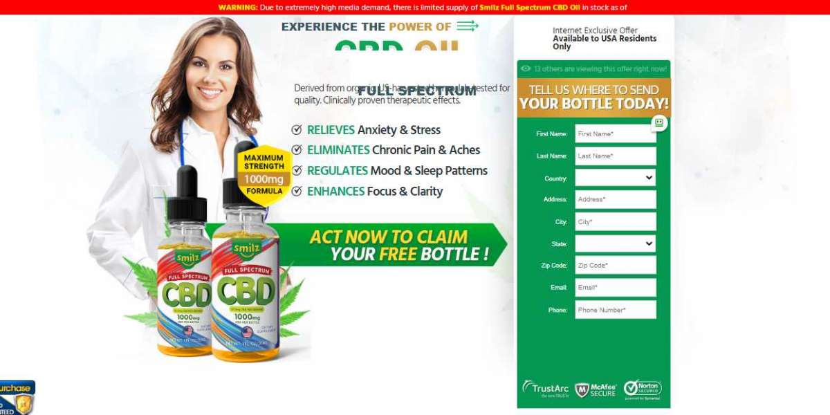 Smilz CBD Oil Reviews – Relieve Anxiety, Stress & Pain Quickly!