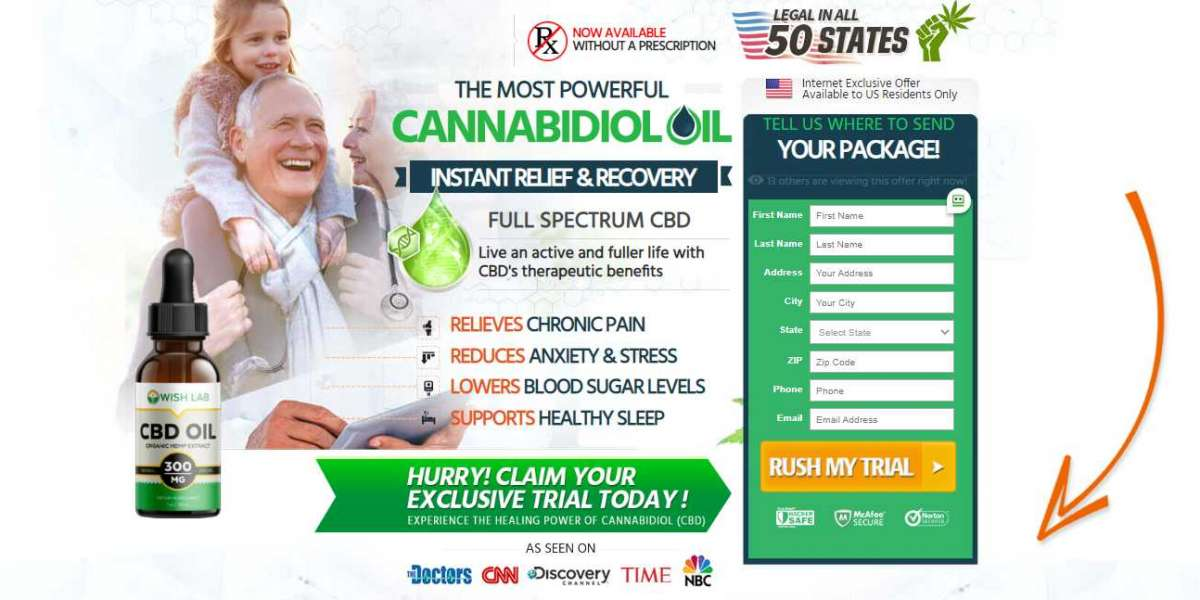 Wish Lab CBD Oil Reviews – Stay Fit & Healthy With CBD Oil! Price, Buy