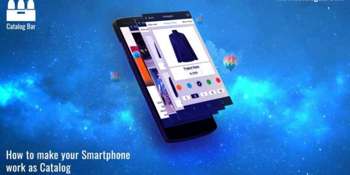 How to make your Smartphone work as Catalog