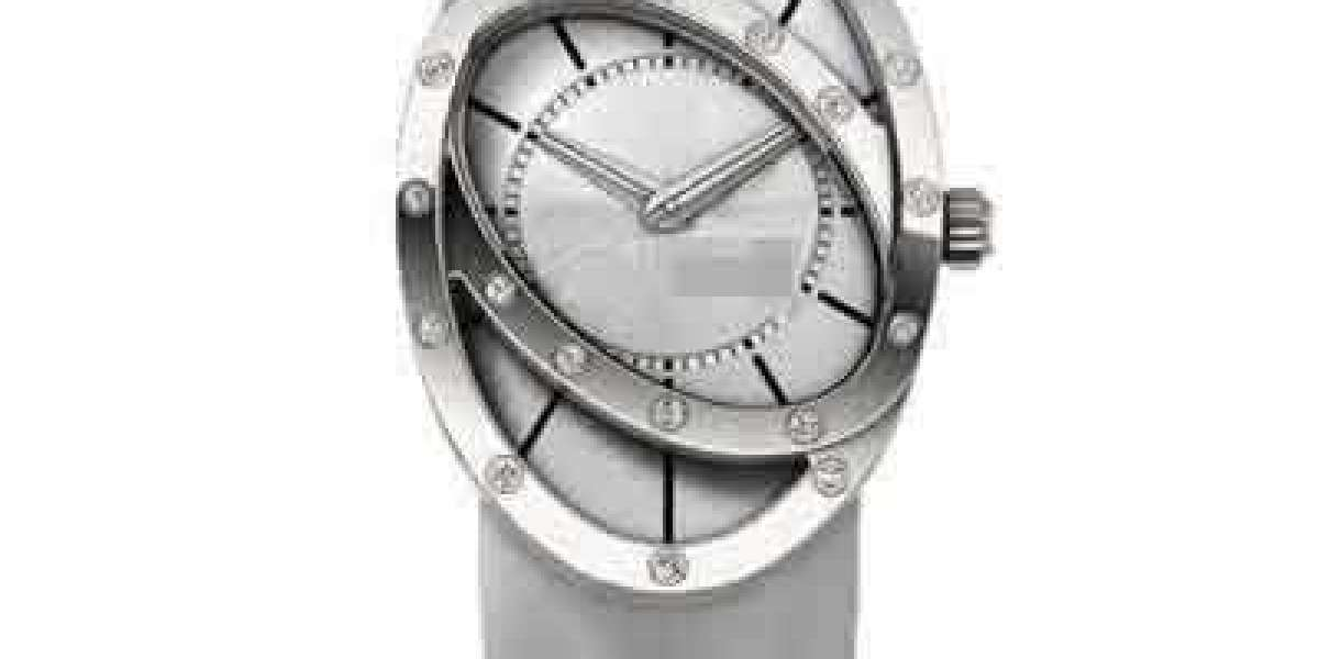 Custom Inexpensive And Stylish Silver Watch Face C026.407.11.037.00