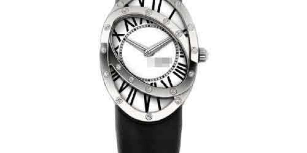 Custom Great Inexpensive Silver Watch Face C026.407.22.037.00