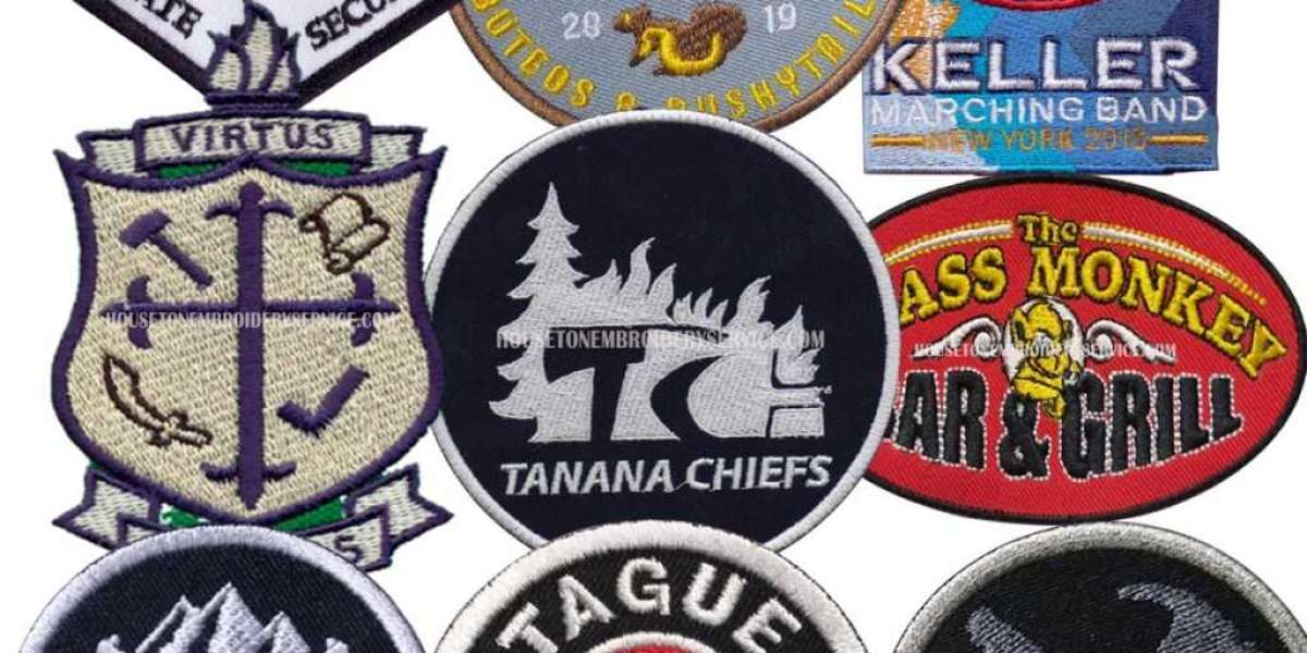 Get Your Customized Patches Designed By United States!!